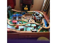 Train set The universe of imagination
