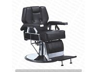 NEW HEAVY DUTY BLACK BARBER CHAIR BX-2801,CASH ON COLLECTION ONLY