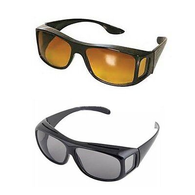 HD Vision Sunglasses High Definition Day Driving WrapArounds UV (Hd Vision Wraparounds Sunglasses)