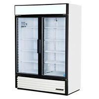 TRUE Glass Door Merchandiser: Swing Door Freezer