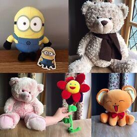 Soft toys bundle