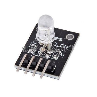 5pcs Ky-016 Rgb 3 Color Full Color Led Module For Arduino