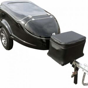 Motorcycle tow behind cargo trailer