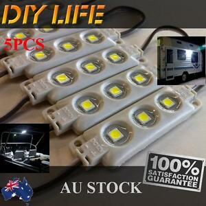 Waterproof 12V LED Strip Module Light Cool white Camping Boat Caravan Car Ip68