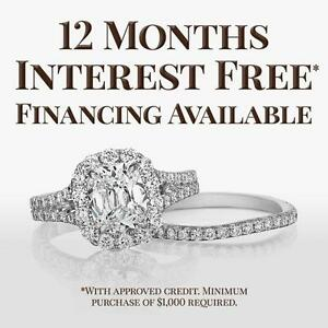 ALL JEWELLERY NO INTEREST FINANCING FOR 12 MONTHS !!!!!!!!!