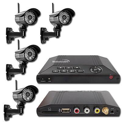 MT Vision Funk Videoüberwachung HS-401 Überwachungssystem Funküberwachung