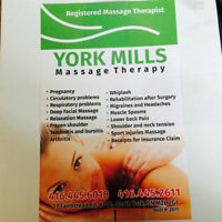 yorkmills massage therapy
