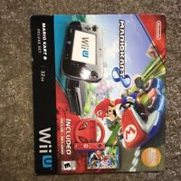 Wii U Mario cart 8 bundle
