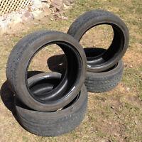 4 pneus continental, P215-45-R17