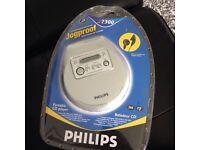 Philips Jogproof portable CD player