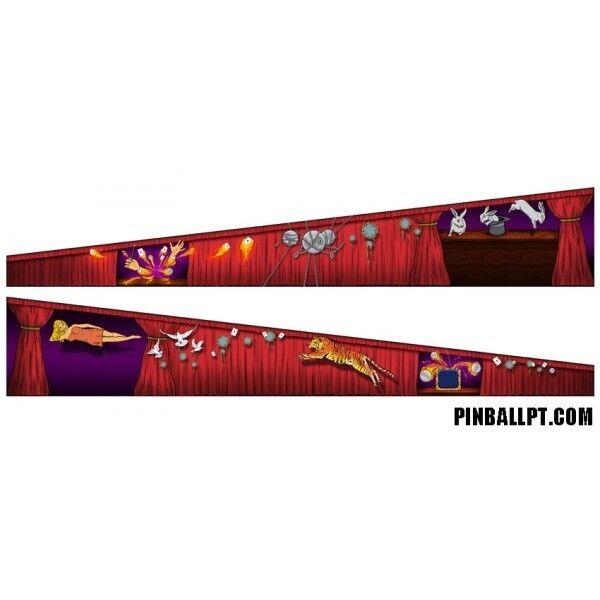 PINBALL INSIDE DECAL SET - Theatre of Magic