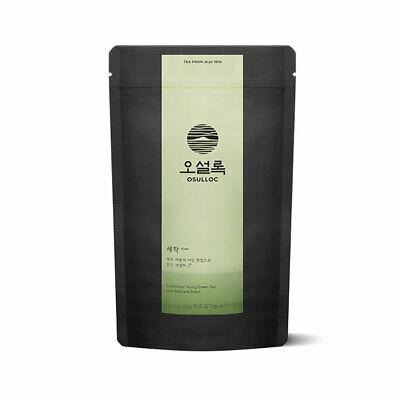OSULLOC SEJAK (premium green tea) 20 bags, in Korea