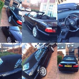 BMW 320CD M Sport Convertible Diesel Manual Full Service History Low Mileage 320D