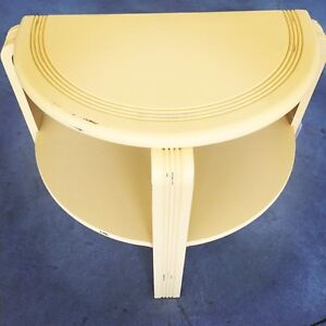 Yellow accent table
