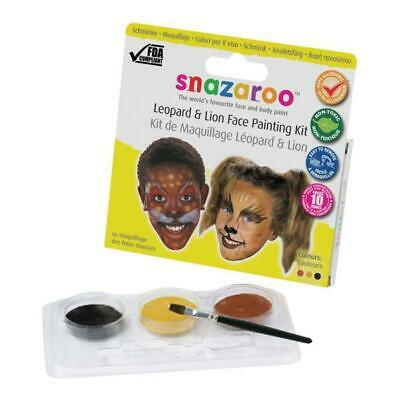 Snazaroo Leopard and Lion Theme Face Paint - Halloween Animal Face Paint 1184070](Animal Halloween Face Paint)