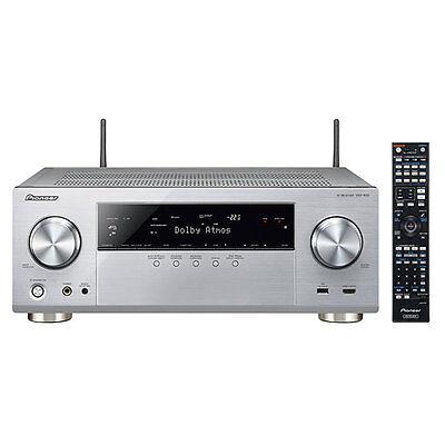 Pioneer VSX 930 7.2 AV Receiver mit WLAN, Bluetooth + HDCP 2.2 *silber* Neuware