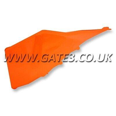 GENUINE KTM 505SXF SXF 505 2007-2009 Orange Left Airbox Cover Air Box Plastics