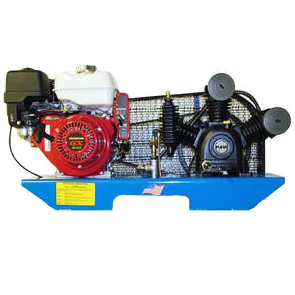Puma 8-hp Tankless Two-stage Truck Mount Air Compressor W/ Electric Start Hon...