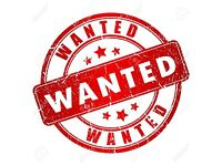 Used Furniture & Appliances Wanted