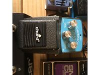 Chord compressor guitar effects pedal