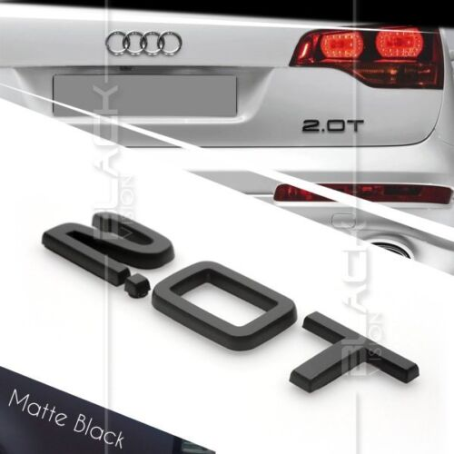 x2 New Black S Line Direct OEM Replacement Emblems for Audi SLine Models