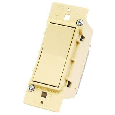 12  Pk U S Hardware Mobile Motor Home RV Ivory Single Electrical Switch E-100C