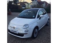 Fiat 500 1.2 lounge 3dr (start/stop) panoramic roof