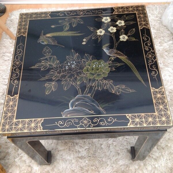 Very attractive old Chinese lacquer coffee table