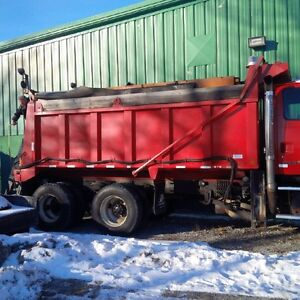 2004 sterling dump with optional plow wing sander