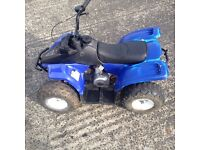 Kuzuma 50cc quad Rev and go £250