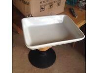 Roasting dishes (white)