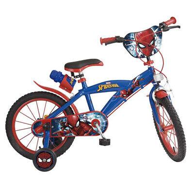 Bicicleta infantil Spiderman 16