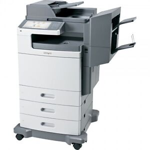 Lexmark X792DTFE Color Multi-function Printer