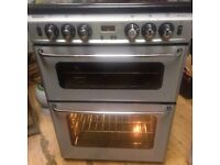 £80 NEWHOME 60 CM WIDE GAS COOKER WITH GAS PIPE