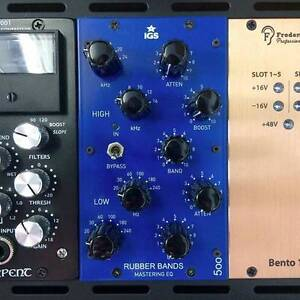 IGS Rubber Bands 500 Stereo Pultec EQ Highgate Hill Brisbane South West Preview