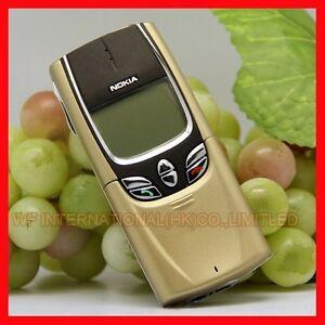 GENUINE UNLOCKED NOKIA 8850 GOLD MOBILE PHONE - RARE CLASSIC VINTAGE RETRO