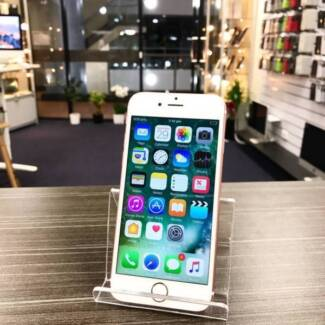 AS NEW IPHONE 6S 64GB ROSE GOLD ACCESSORIES TAX INVOICE WARRANTY