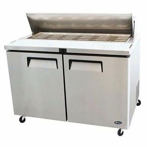 "Salad Prep Refrigerated Table 48"" Brand New"