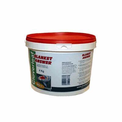 4kg CLOVERLEAF BLANKET ANSWER POND WEED WATER TREATMENT BLANKETWEED KOI FISH