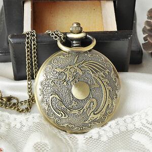 Bronze Montres Collier pendantif Antique, Antique Pocket watch