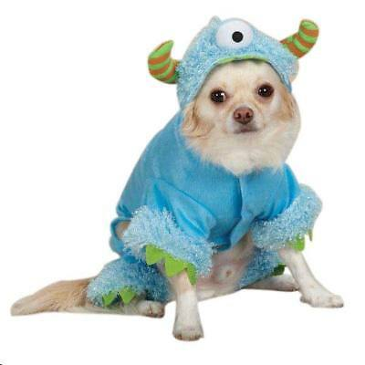 XSM Blue Monsters Paws Dog Halloween Costume Pet Costume Casual Canine USA NEW (Dog Halloween Costumes Monster)