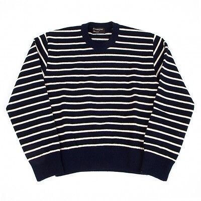 COMME des GARCONS HOMME PLUS Border Knit Sweaters Size About  M(K-41510)