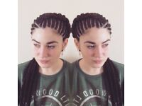 Cornrows/ braids for all hair types