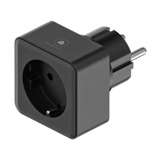 Smart outlet Yandex YNDX-0007 Black EU plug