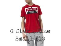 New G Star T Shirts - Size Small - HURRY The last two for sale