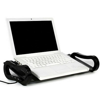 iBoard by iRoo Glass Stand laptop notebook Macbook Pro Air iMac 3 Port USB hub
