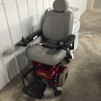 Jazzy Select 6 electric wheel chair