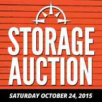 Cole Harbour Self Storage Auction Saturday Oct. 24, 2015