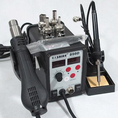 2in1 Hot Air Rework Soldering Desoldering Station 110v Only