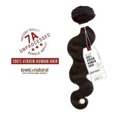 Sensationnel Body Wave (SENSATIONNEL VIRGIN HUMAN HAIR WEAVE BARE&NATURAL 7A BODY WAVE & LOOSE)